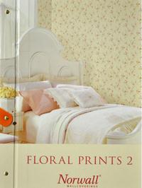 Wallpapers by Floral Prints 2 by Norwall Book