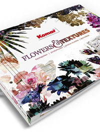 Wallpapers by Flowers & Textures Book