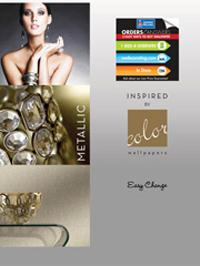 Wallpapers by Inspired by Color Metallic Book