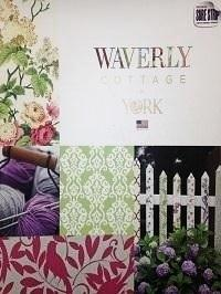 Wallpapers by Waverly Cottage Book