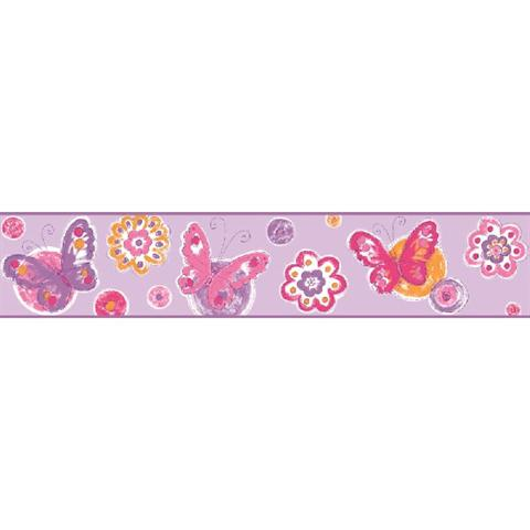 Butterfly Circle Border