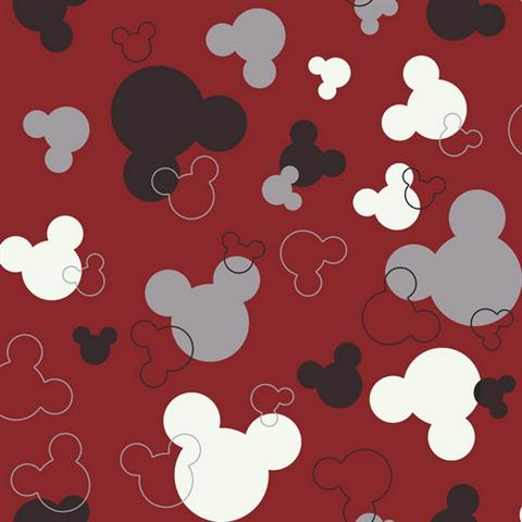 Disney Mickey Mouse Head Dk5928 Disney Wallpaper