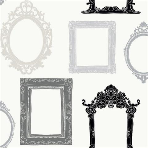 Fancy Frames | YS9338 | Peek-A-Boo | Wallpaper