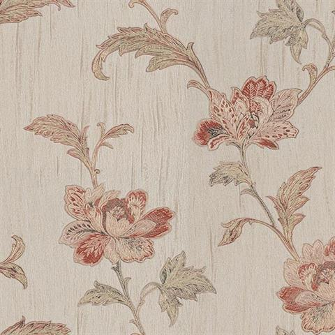Gemma Embroidered Jacobean Floral