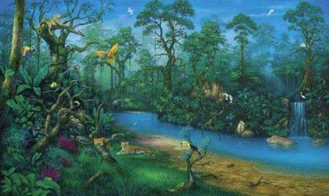 Jungle Dreams - Wall Mural