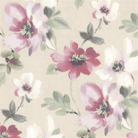 Lynette Watercolour Floral