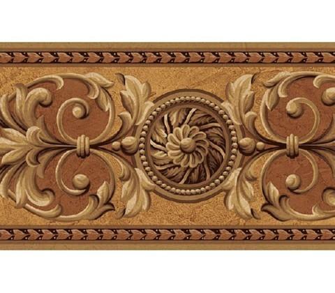 Medallion Wallpaper Border At75142b Art And Texture