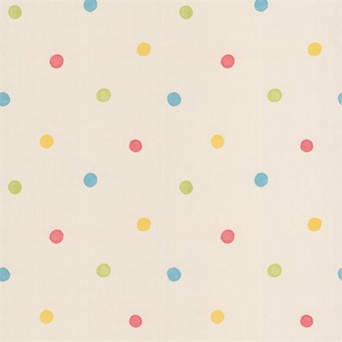 Multicolored Polka Dots