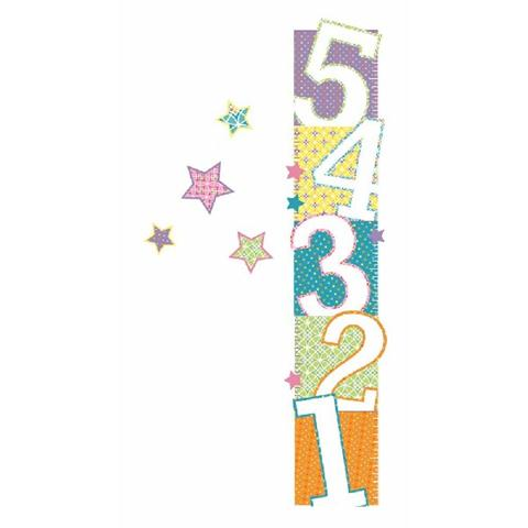Patterned Numbers Growth Chart