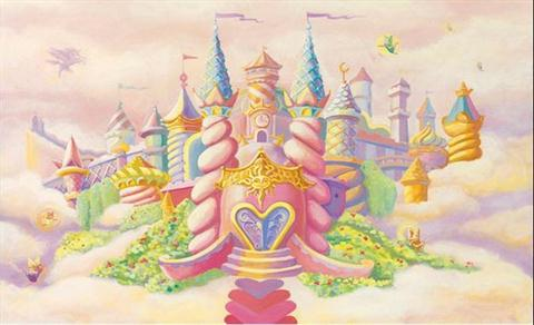Princess Castle - Wall Mural