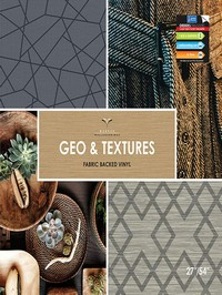 Wallpapers by Advantage Geo and Textures by Brewster Book
