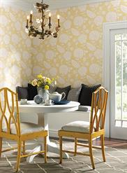 Chunky Floral Wallpaper EB2056