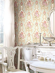 damask-folio wallpaper room scene 4