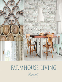 Wallpapers by Farmhouse Living Book