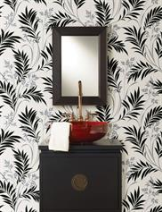 Black and White Bamboo Wallpaper 43646935