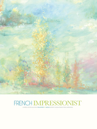 Wallpapers by French Impressionist Book