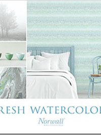 Wallpapers by Fresh Watercolors Book