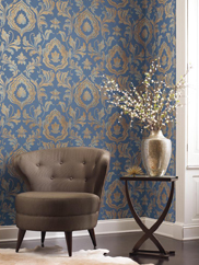 GF0705 Contempo Damask Wallpaper