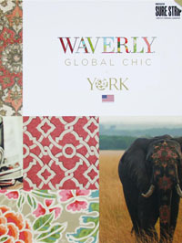 Wallpapers by Global Chic by Waverly Book
