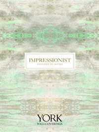 Wallpapers by Impressionist by York Book