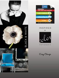 Wallpapers by Inspired by Color Black & White Book