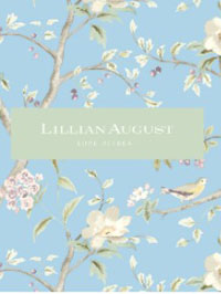 Wallpapers by Lillian August Luxe Retreat Book