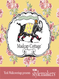 Wallpapers by MadCap Cottage Wallpaper book by York Wallcovering Book