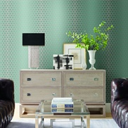 OL2753, Light Blue Rhythmic Wallpaper