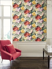 ON40607 Floral Wallpaper