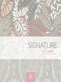 Wallpapers by Signature By Sarah Richardson Book