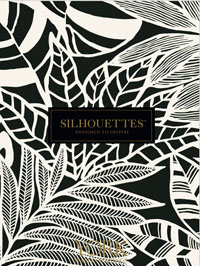 Wallpapers by Silhouettes Wallcovering by York Book