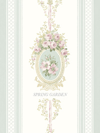 Wallpapers by Spring Garden By Wallquest Book