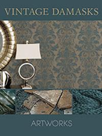 Wallpapers by Vintage Damasks Book