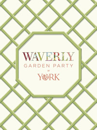 Wallpapers by Waverly Garden Party Book