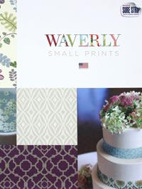 Wallpapers by Waverly Small Prints Book