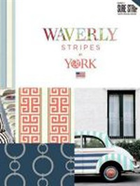 Wallpapers by Waverly Stripes Book