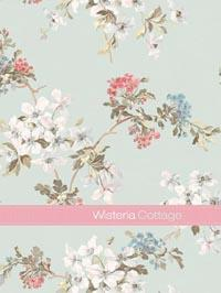 Wallpapers by Wisteria Cottage Book