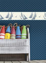 Mini Anchor Toile NY4963