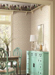 country-keepsakes wallpaper room scene 6