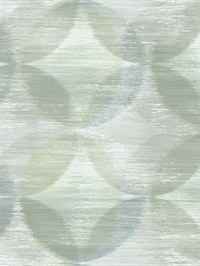 Alchemy Green Geometric Wallpaper