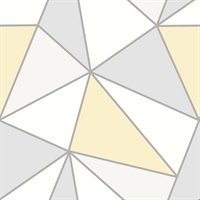 Apex Yellow Geometric Wallpaper