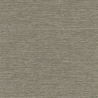 Aspero Taupe Faux Silk Wallpaper