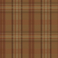 Austin Brown Plaid Wallpaper