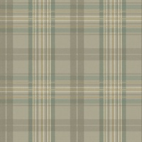 Austin Grey Plaid Wallpaper