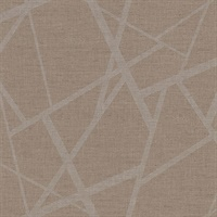 Avatar Brown Abstract Geometric Wallpaper