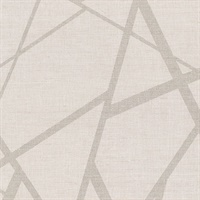 Avatar White Abstract Geometric Wallpaper