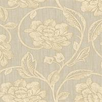 Avocet Floral Scroll