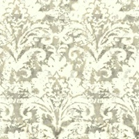 Batik Damask Wallpaper