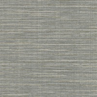 Bay Ridge Grey Linen Texture Wallpaper