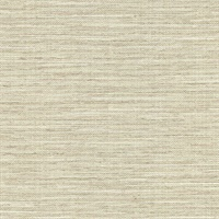 Bay Ridge Neutral Linen Texture Wallpaper